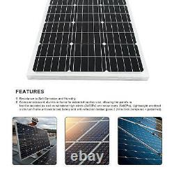 100W 12V PV Solar Panel with Solar Power Pond Water Pump for Watering Washing