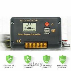 100W Solar Panel with 12V Solar Power Water Pump Pond for Irrgation Watering