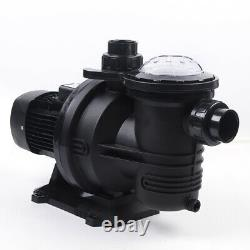 1200W 1.5 HP Solar Water Swimming Pool Pump DC Off Grid Brushless + Controller