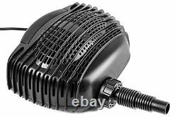 12V-18V DC Best Submersible Water Pump 898 GPH for Solar Fountain & Waterfall