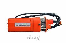 12V & 24V Submersible Deep Well Water DC Pump Alternative Energy Solar Battery