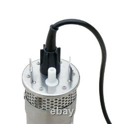 12V 70M 4 Solar Deep Water Well Pump Submersible for Irrigation Stainless Steel