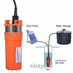 12V Submersible Deep DC Solar Well Water Pump Battery Alternate Energy 4 230Ft