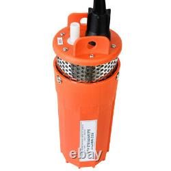 12V Submersible Deep Solar Well Water DC Pump Renewable Energy Solar Powered
