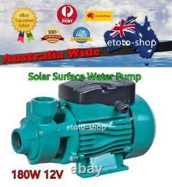 180W 12V DC SOLAR PRESSURE WATER PUMP Livestock Irrigation Off Grid Home