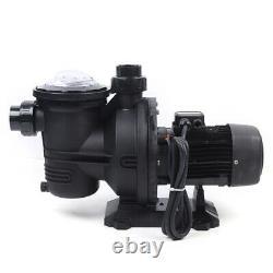 1.2HP 900W DC Solar Water Pump Swimming Spa Pool Pump Motor+MPPT controller 72V