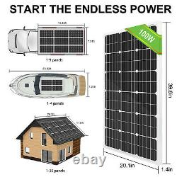 200W Solar Panel+24V Deep Well Water Pump & Controller &Sealed Lead Acid Battery