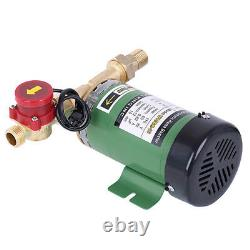 220V Automatic Booster Pump 90W Solar Heater Household Pressure Water Pump