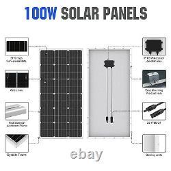24V 400W Submersible Solar Well Pump Kit, 3'' Solar Water Pump, 400W Solar Panel