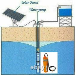 24Volt Solar Deep Well Water Pump Submersible Water Pump Pond Irrigation Farm
