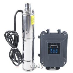 3 24V 270W DC Deep Well Solar Water Pump Submersible max. Head 100m/ 328ft +MPPT