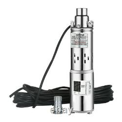 3 250W DC Deep Bore Well Solar Water Pump 24V High Flow Submersible Pump Kit