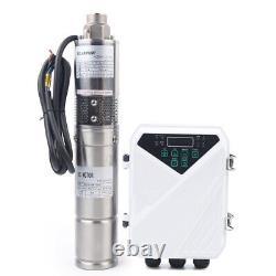 3 DC Deep Well Solar Water Pump Submersible Bore Pump MPPT Controller Kit Screw
