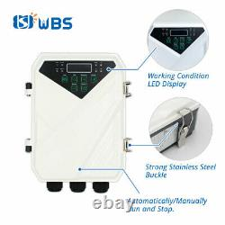 4 WBS DC Solar Pump 110V 2HP 40GPM Water Bore Hole Submersible Agriculture Farm