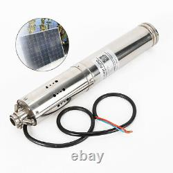 4m³/h 24V Ranch Farm Solar Water Pump Deep Well Bore Hole Submersible Pump 520W