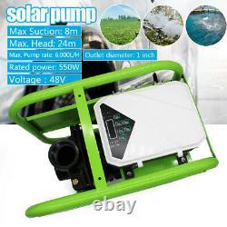 550W Solar DC Pump Surface Water Transfer Off Grid High Pressure 48V Irrigation