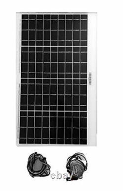 Amtrak Solar Water Fountain Pump with 50 W Solar Panel