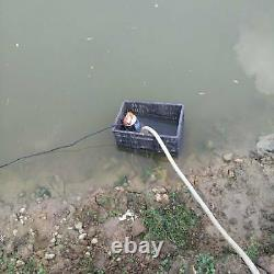 BACOENG DC 12V Submersible Water Pump Solar Water Pump with 6m Cable, 20FT Lift