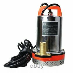 BACOENG DC 24V Submersible Water Pump Solar Water Pump with 6m Cable, 23FT Lift