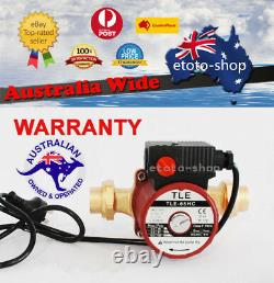 Brass Solar Hot Water Circulation Pump 3 Speed 240V + FREE Brass Union