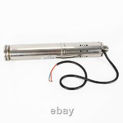 DC24V/36V High Pressure Solar Water Pump Submersible pump Bore Hole Deep Well US