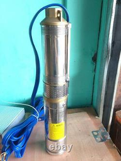 DC48V 750W Solar Pump 3 Solar Submersible Pump High Pressure Solar Water Pump