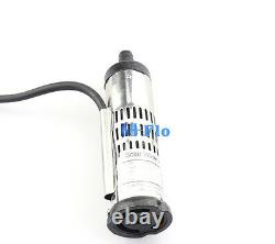 DC Brushless Solar Water Pump 12V/24V 3m3/h Submersible Pump/PV Fountain Pump