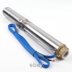 DC Solar Water Pump 1HP Submersible MPPT Controller Deep Bore Well MPPT 4