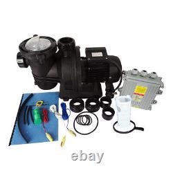 Efficient 500W Solar Variable Speed Pool Pump, Swimming Pool Pump, DC Motor 48V