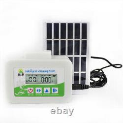 Self Watering Solar Powered Intelligent Plant Drip Irrigation Timer Pump