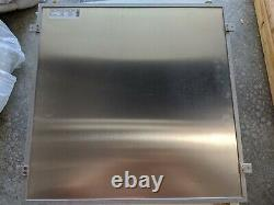 Set of 3 NEW HELIATOS SOLAR EZ-37 Solar Water Heater Panels with hardware